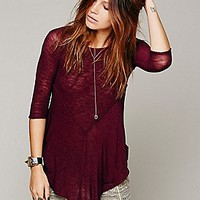Free People Womens Weekends Layering Top -