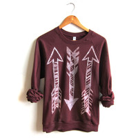 Arrow Tribal Sweatshirt