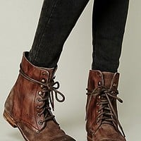Free People Womens Truemay Lace Up Boot -