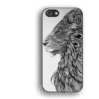 lion case,geometric,IPhone 5s case,IPhone 5c case,IPhone 4 case, IPhone 5 case ,IPhone 4s case,Rubber IPhone case