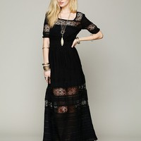 Free People Mix In The Crochet Dress