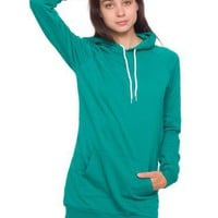 American Apparel California Fleece Pullover Raglan Hoody Dress