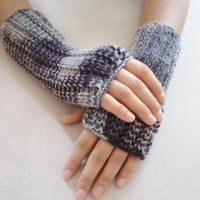Fingirless Gloves, Mittens, Wool Colorfull  handmade gloves, Hand knitting gloves, women accessories. miitten, warm, autumn trends