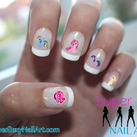 My Little Pony Nail Art Water Transfer Decal by SuperSexyNailArt
