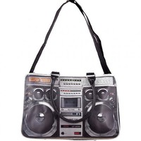 Retro Ghettoblaster Weekend Bag : TruffleShuffle.com