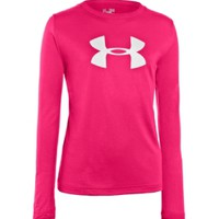 Under Armour Girls' UA Tech Big Logo Long Sleeve Shirt - Dick's Sporting Goods