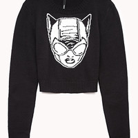 Cropped Catwoman™ Sweater | FOREVER 21 - 2000110761