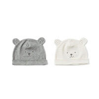 PACK OF 2 TEDDY BEAR HATS - Accessories - MINI | ZARA United States