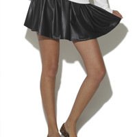 Vegan Leather Skater Skirt | Shop Accessories at Wet Seal