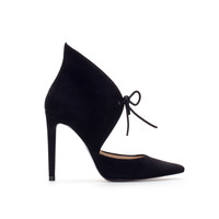 LEATHER ANKLE BOOT STYLE COURT SHOE - Shoes - Woman | ZARA United States
