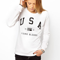Zoe Karssen | Zoe Karssen Young Bloods Sweatshirt at ASOS