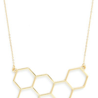 ModCloth Minimal Nectar in Line Necklace