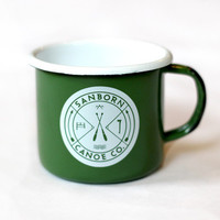 Enamel Camp Mug - Sanborn Canoe Co.