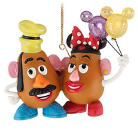 Disney Figurine Mrs. Potato Head and Mr. Potato Head Ornament | Disney Store