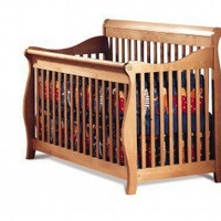 AP Industries Paradise 3-in-1 Convertible Crib - 1000-0125 series - Cribs - Nursery Furniture - Baby & Kids' Furniture - Furniture