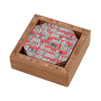 DENY Designs Home Accessories | Sharon Turner New York Coral Coaster Set