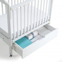 Angeles Crib Drawer in White - AEL7062 - Cribs - Nursery Furniture - Baby & Kids' Furniture - Furniture