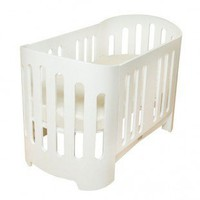 bloom Luxo Sleep Crib in White - Sleep Baby Bed Series - Cribs - Nursery Furniture - Baby & Kids' Furniture - Furniture