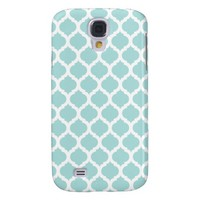 Tiffany Blu & White Moroccan Samsung Galaxy 4 Case Samsung Galaxy S4 Cover