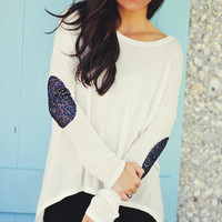 Hide And Seek Sweater: White | Hope's