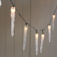 Icicle String Lights   Pottery Barn