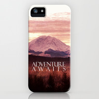 Adventure awaits iPhone & iPod Case by Sylvia Cook Photography