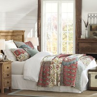 Michelle Patchwork Quilt & Shams | Pottery Barn