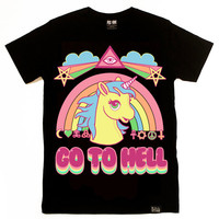 Go To Hell T-Shirt [B] | KILLSTAR
