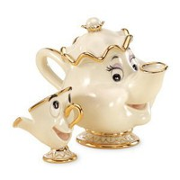 Lenox Disney Showcase Mrs. Potts &amp; Chip