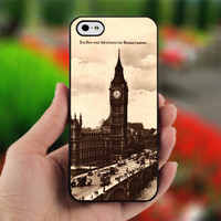Big Ben Tower - design for iPhone 5 Black case