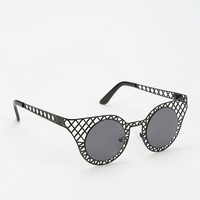 Urban Outfitters - Crisscross Cat-Eye Sunglasses