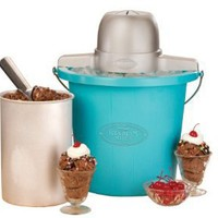 Nostalgia Electrics 4-Quart Electric Ice Cream Maker