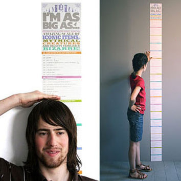 I'm As Big As…' Height Chart
