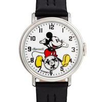 Disney Golden Years Mickey Mouse Rotator Black Watch at asos.com