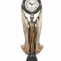 Art Deco | Fortune&#x27;s Muse Sculptural Clock