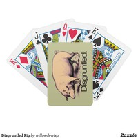 Disgruntled Pig Poker Deck