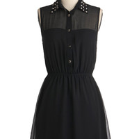 As Noir as I'm Concerned Dress | Mod Retro Vintage Dresses | ModCloth.com