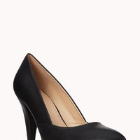 Classic Faux Leather Pumps | FOREVER 21 - 2040495767