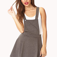 No-Fuss Overall Dress | FOREVER 21 - 2040496809