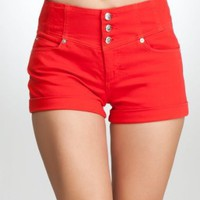 Amazon.com: bebe High Waist Short: Clothing
