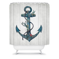 DENY Designs Home Accessories | Terry Fan Lost At Sea Shower Curtain