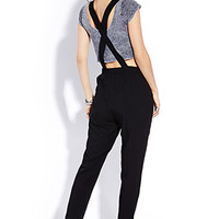 Sleek Surplice Jumpsuit | FOREVER 21 - 2000091080