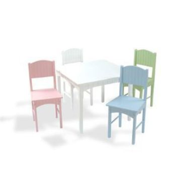 Amazon.com: Kidkraft Nantucket Table and Chair Set: Sports & Outdoors