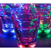Light Up Multicolor LED Shot Glass (Quantity=3)