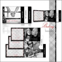 Wedding Invitation Printable Template Modern Burberry by ABandIG