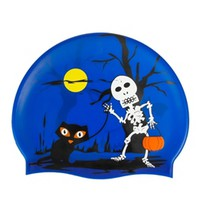 Sporti Trick or Treat Silicone Swim Cap Jr at SwimOutlet.com