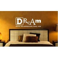 Amazon.com: Dream Definintion Wall Decal Sticker Meaning Dreams Sleep Goal Inspiration: Everything Else