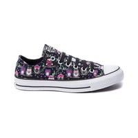 Converse All Star Lo Flocked Owls Sneaker, Black Multi, at Journeys Shoes