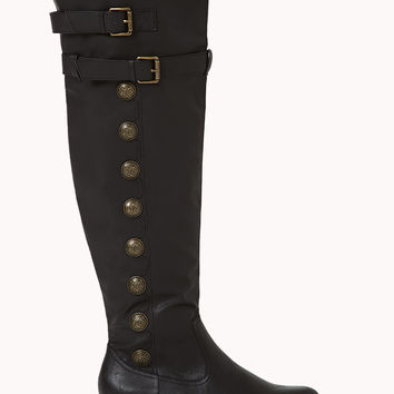 Cool Commander Over-the-Knee Boots