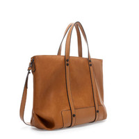 BASIC SHOPPER BAG - Handbags - TRF | ZARA United States